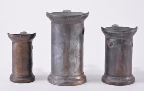 3 Nicht Lebensmittel Echt Metal Measuring Cups