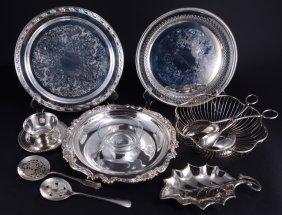 Silverplate Trays & Servers Lot