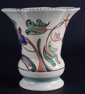 English Honitan Devon Pottery Monkton Vase