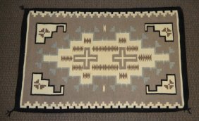 Indian Copy Of American Indian Two Gray Hills Rug