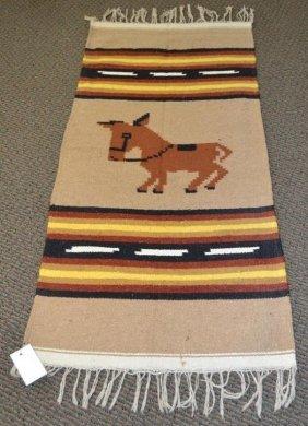 Guatemala Or Mexico Flatweave Rug