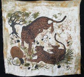 Ltd. Ed. Robin Anderson Signed Kenya Leopard Print