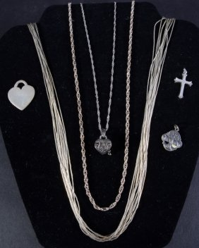 Sterling Necklaces And Charms