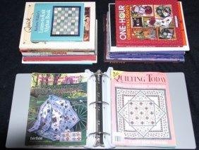 Books On Quilting, Afghans, Applique & More