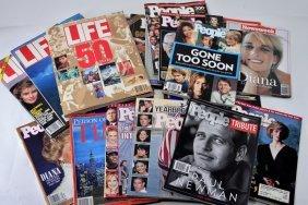 Commemorative Magazines Primarily Diana