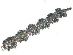 Iridescent Rhinestone Bracelet
