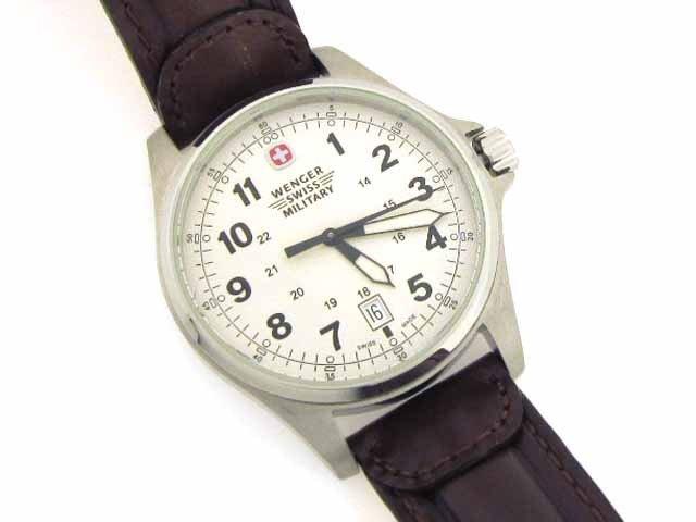 Wenger Swiss Military Men S Terragraph Watch Lot 316