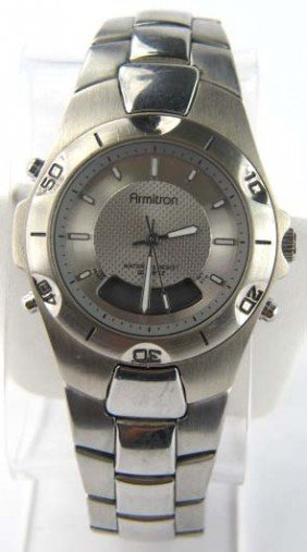 Armitron Stainless Steel Watch