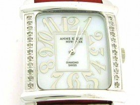 Anne Klein Watch Swiss Diamond Watch