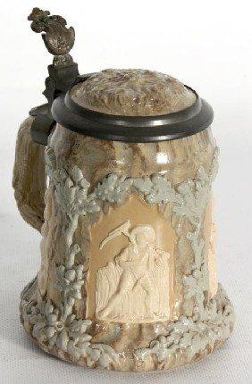 Mettlach Cameo 1/2 Liter Stein