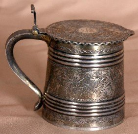 Russian 84 .zol Silver Stein - 1891 Moscow.