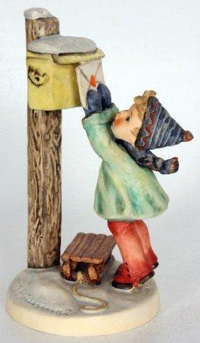 Hummel Figurine, Letter To Santa