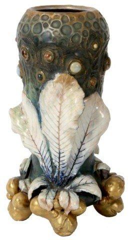 Amphora Jeweled Vase