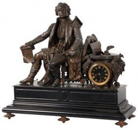 George Washington Mantle Clock