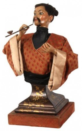 Figural Opium Smoking Automaton