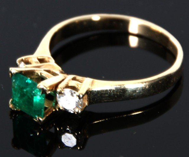 361 atocha shipwreck 88 ct emerald ring lot 361