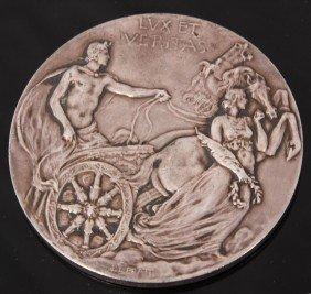 Yale Bicentennial Tiffany Silver Medallion