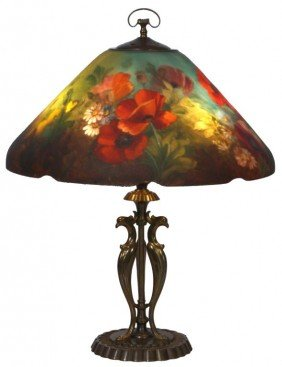 Handel Floral Poppy Table Lamp