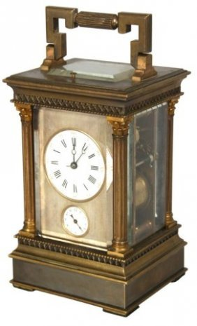 Hour Repeater & Alarm Carriage Clock