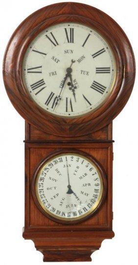Welch Calendar Clock No 2 Lot 102