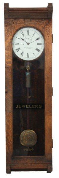 Oak Waltham No. 16 Jewelers Regulator