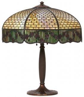 18 In. Handel Overlay Panel Lamp
