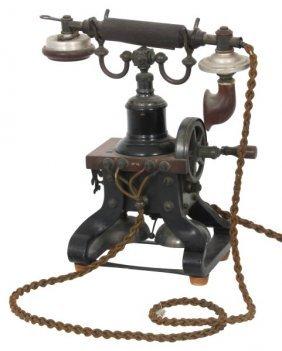 Skeletonized No. 16 Eiffel Tower Telephone