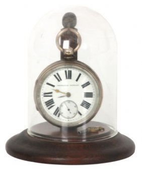English Fusee Pocket Watch With Dome