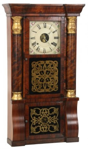 Seth Thomas Triple Decker Mantle Clock