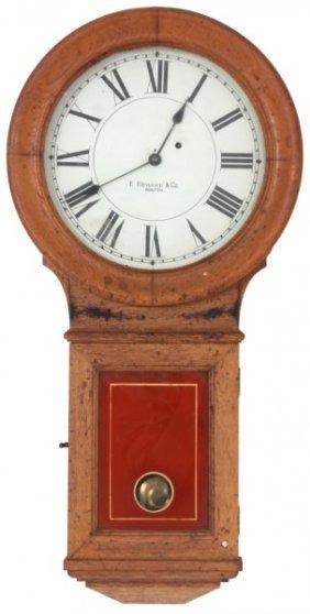 E. Howard No. 70 Oak Wall Regulator