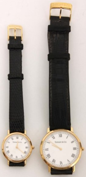 Pr. 18k Tiffany & Co. M1530 Watches