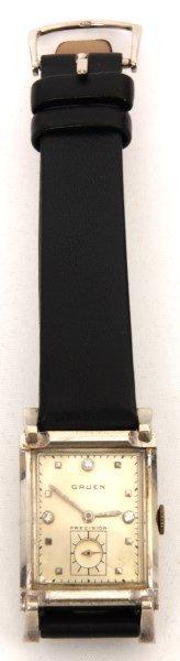 Gruen Curvex Precision 14k Gold Wristwatch
