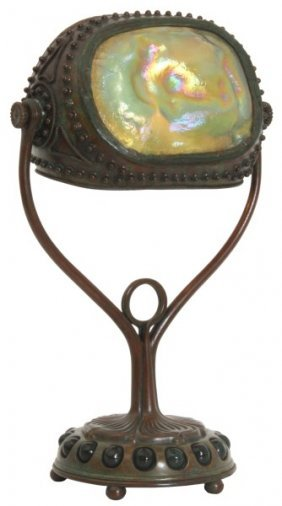 Tiffany Studios Turtleback Desk Lamp