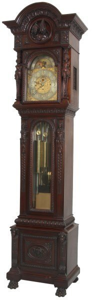 Tiffany & Co. 9 Tube Grandfather Clock