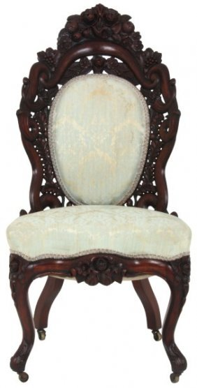 Belter Fountain Elms Mahogany Sidechair