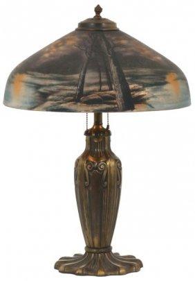 16 In. Pittsburgh Lunar Table Lamp