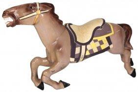 Forward Facing Jumper Carousel Horse