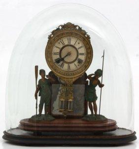 H.j. Davies Crystal Palace Mantle Clock