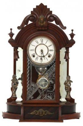 Gilbert Mirror Side Parlor Clock – Occidental