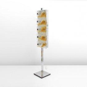 Large Mazzega Floor Lamp