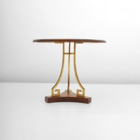 """French """"Greek Key"""" Occasional Table"""
