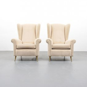 Pair of lounge chairs attributed to paolo buffa lot 661 for Furniture 63366