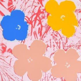 Andy Warhol (after) Flowers Silkscreen