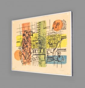 Fernand Leger Lithograph, Limited Edition