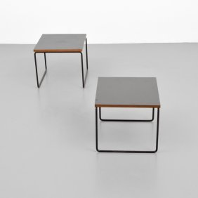 Pair Of Pierre Guariche End Tables