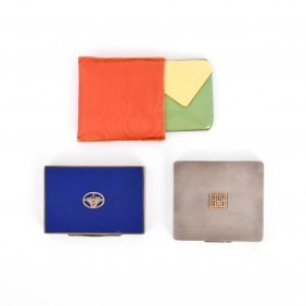 Dunhill Case, Compact & Case, Warhol Collection