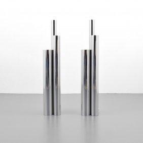 Pair Of Floor Lamps, Manner Of Vladimir Kagan