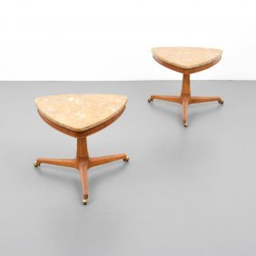Pair Of Tomlinson Sophisticate End Tables