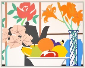Large Tom Wesselmann Lithograph, Signed Limited Edition