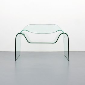 Cini Boeri & Tomu Katayanagi Ghost Glass Lounge Chair